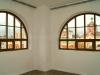 Нестандартное деревянное окно со стеклопакетом