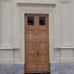 Воссоздание исторической двери из массива