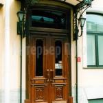 Фасадный дверной блок Массив дуба
