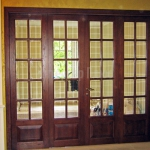 Дверь-перегородка в дом коттедж