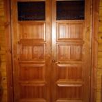 Дверной блок материал сосна