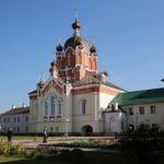 Крестовоздвиженская церковь Тихвинского монастыря