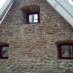 деревянные окна, крепость в Ивангороде.