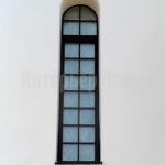 Нестандартные окна с расстекловкой.