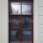 Фасадные деревянные окна.