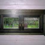 Окна из массива сосны