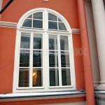 Фасадное окно Александро-Невская Лавра.