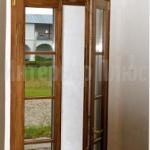 Окно из массива со стеклопакетом