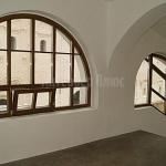 Деревянные окна сложной формы