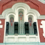 Фасад мужского монастыря, остров Валаам.