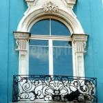 Фасадное окно.