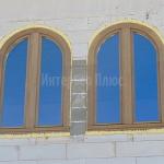 Арочные окна на заказ от производителя