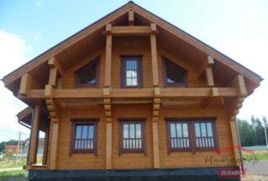 Деревянные наличники для частного дома