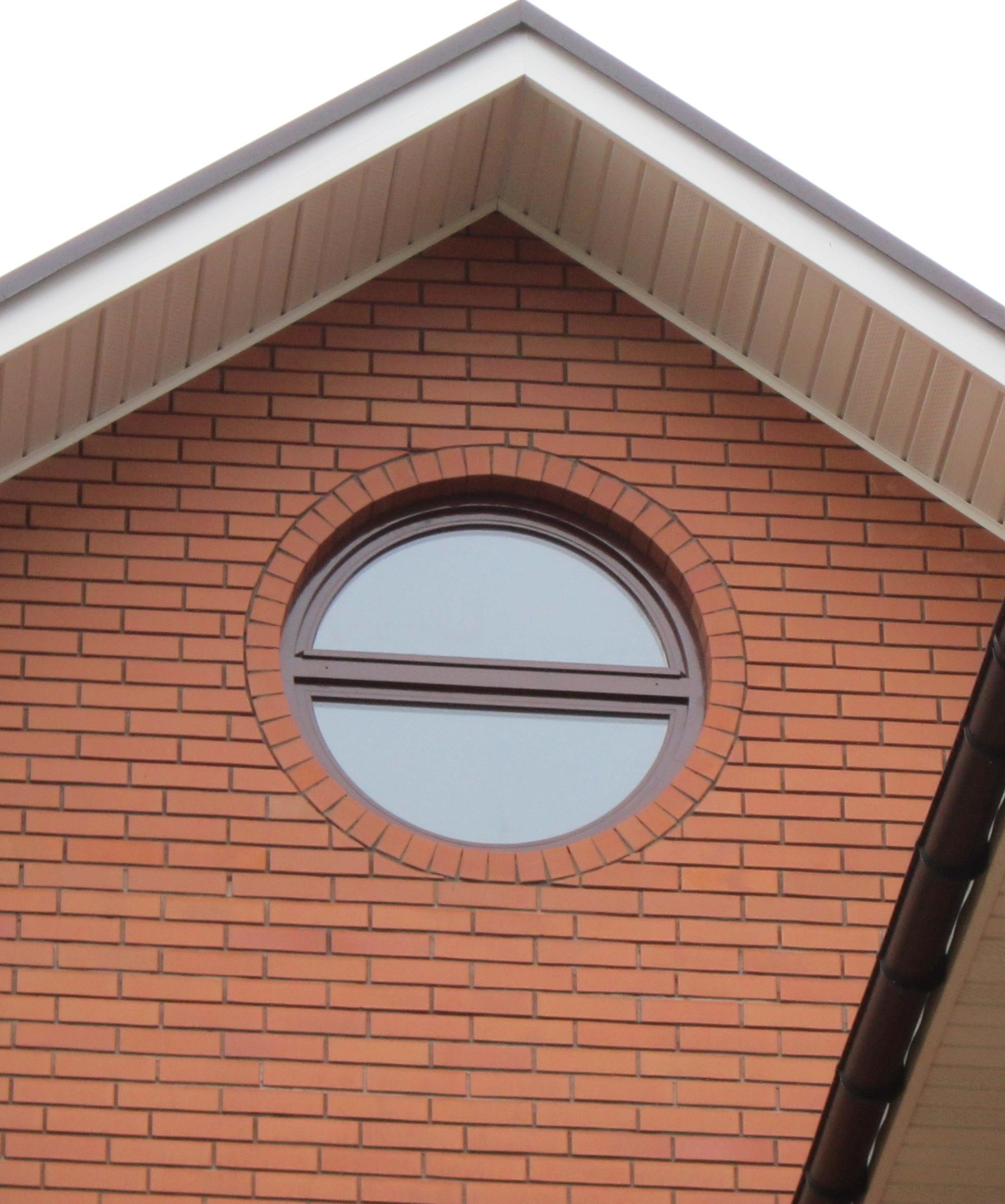 круглые окна фото домов этом