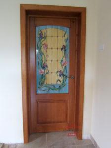 ДОригинальная дверь из массива